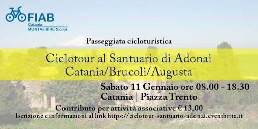 Ciclotour al Santuario di Adonai: Catania/Brucoli/Augusta