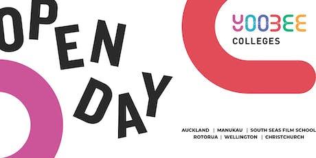 OPEN DAY | Yoobee Colleges - Rotorua Campus tickets