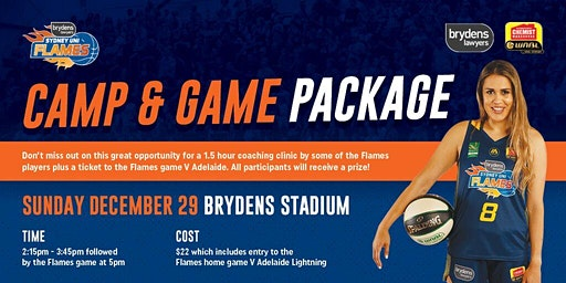 Camp and Game package proudly brought to you by Brydens Lawyers