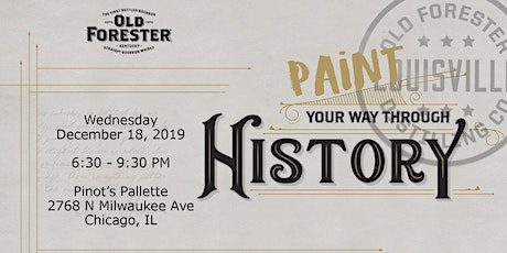 Old Forester Paint Through History with Women Who Whiskey Chicago tickets