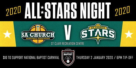 SA Church All-Stars Night 2020 tickets