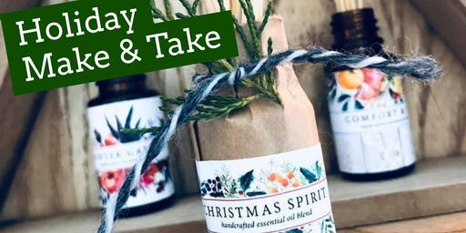 Simple DIY Holiday Gifts-  Make & Take Workshop