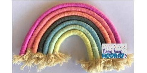 Fibre Art Rainbow Workshop (ADULTS & KIDS) - January School Holidays