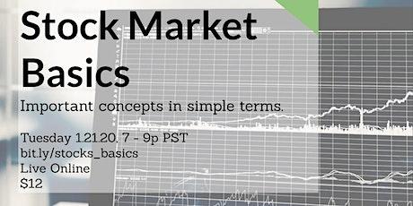 Stock Market Basics tickets