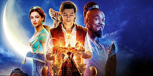Kids' Summer School Holiday Event: Film Screening: 'Aladdin' (rated PG)
