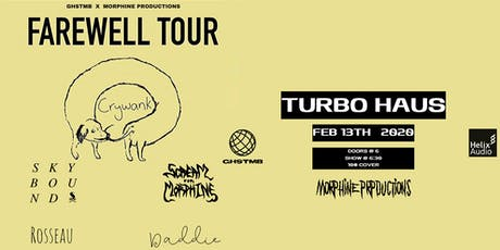 Crywank // Montréal // Feb 13 2020 tickets