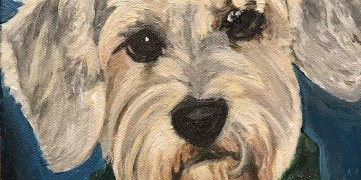Pet Portrait Paint Night to Benefit BARCS