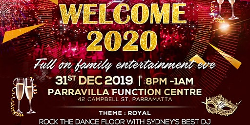 New Year Eve Royal Ball - WELCOME 2020