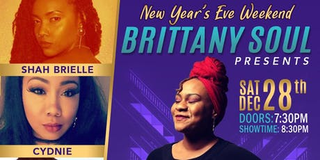 Brittany Soul's  Spoken Soultry Experience NYE Weekend @ 172 Live Music tickets