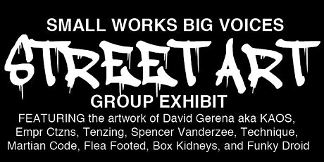 SMALL WORKS BIG VOICES tickets