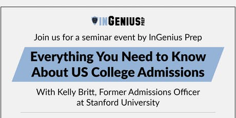 Everything You Need to Know About US College Admissions tickets