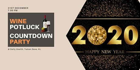 Wine Potluck Countdown Party tickets