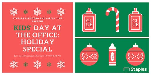 Kids' Day at the Office: Holiday Special