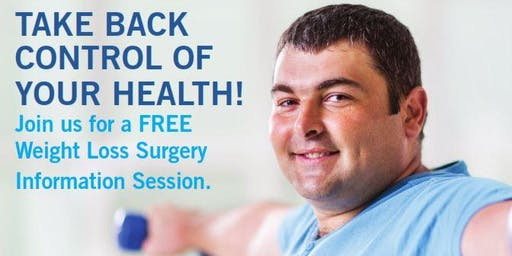 Join us for a FREE  Weight Loss Surgery Information Session!