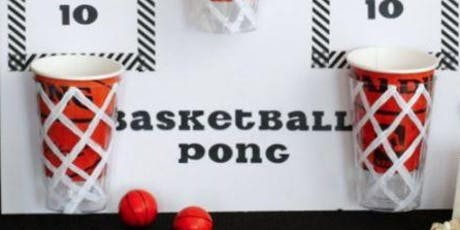 Basketball Ping Pong tickets