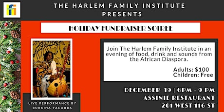 Holiday Fundraiser Soiree tickets