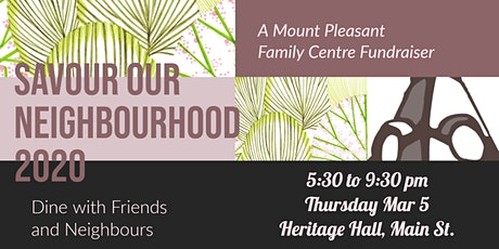 Savour Our Neighbourhood 2020 tickets