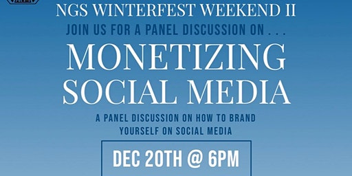 2019 NGS Winterfest Youth Panel