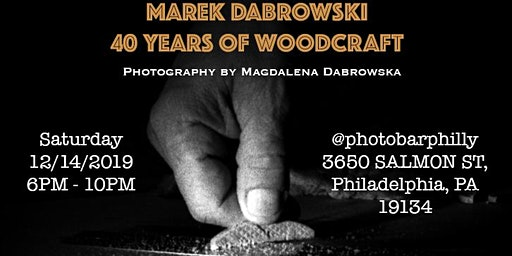 "Marek Dabrowski ""40 Years of Woodcraft"" - Photography by Magdalena Dabrowska"