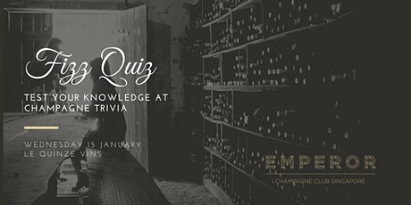 Fizz Quiz - Test your knowledge at Champagne Trivia! tickets
