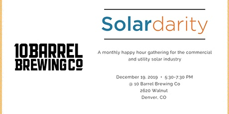 Solardarity December 2019 tickets