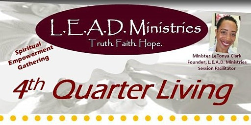 4th Quarter Living - 12/14/19 Spiritual Empowerment Gathering