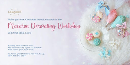 Macaron Decorating Workshop: Make Your Own Winter-Themed Macaron