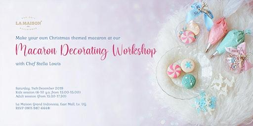 Macaron Decorating Workshop: Make Your Own Winter-Themed Macaron
