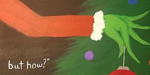 Dr Seuss Christmas Painting Class