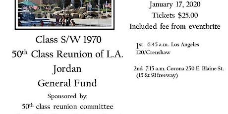 Class of S/W 1970 Bus Turnaround L.A. Jordan High  tickets