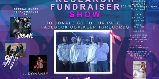 KeepitG Breast Cancer Research Fundraiser Show