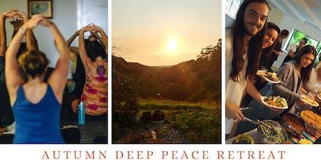 Autumn Deep Peace Retreat tickets
