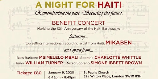 A Night For Haiti Benefit Concert