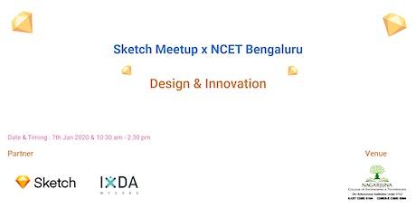 Sketch Meetup x NCET Bengaluru tickets