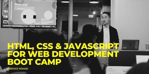 HTML, CSS & JavaScript for Web Development Boot Camp | December 2019