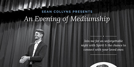 Sean Collyns presents - an Evening of Mediumship tickets