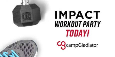 Free Community Workout with Camp Gladiator Outdoor Fitness tickets