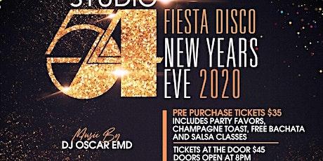 Studio 54 Fiesta Disco New Years Eve 2020 tickets