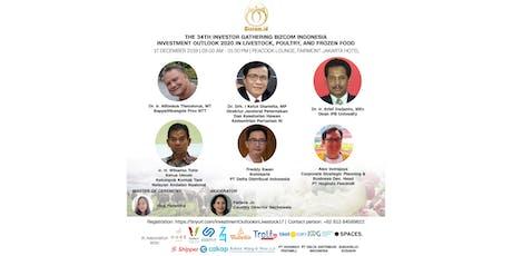 The 34th Investor Gathering Bizcom Indonesia tickets