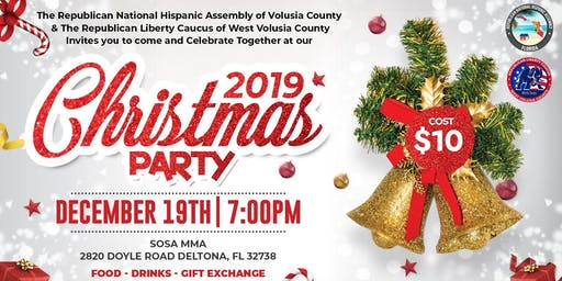 2019 Volusia County Christmas Party