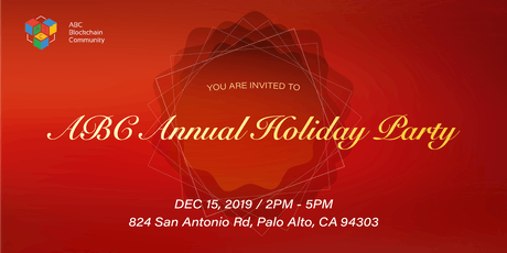 ABC BlockChain Community 2019 Annual Holiday Party tickets