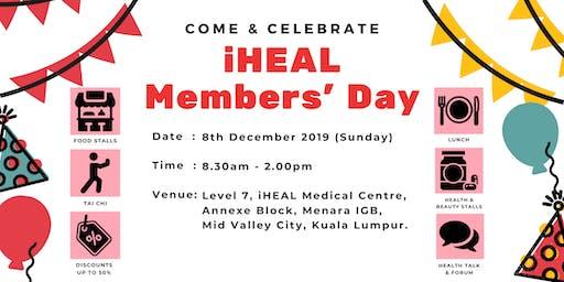iHEAL Member's Day 2019