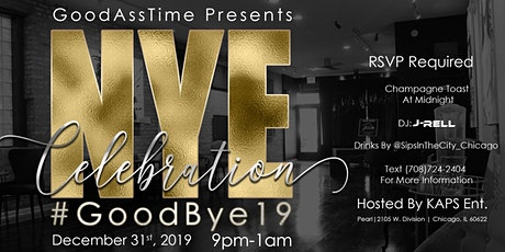 GoodAssTime Presents: NYE 2020 Black Affair tickets