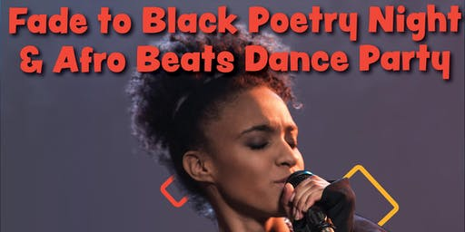 Fade to Black Poetry Night hosted by Kanei