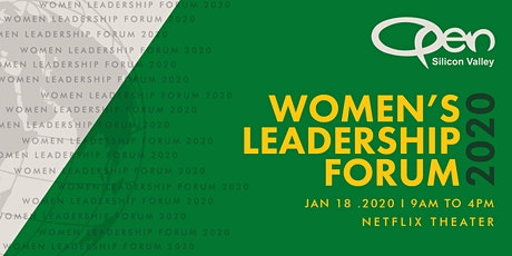 OPEN Silicon Valley Women's Leadership Forum 2020 tickets