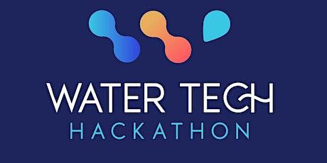 Hackathon eau & ville billets