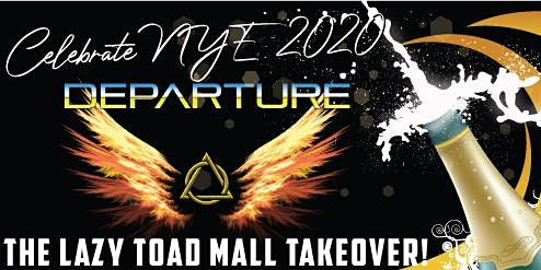 New Years Eve Party with Departure and Lazy Toad