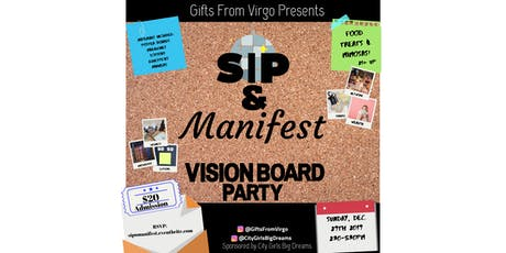 Gifts From Virgo Presents: Sip & Manifest Vision Board Party tickets