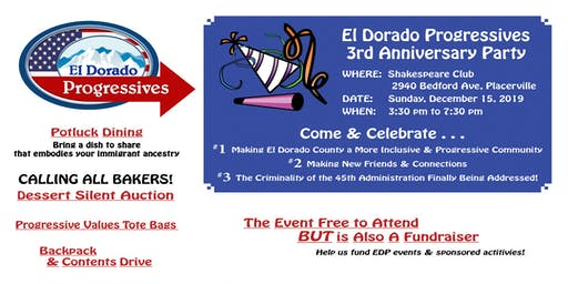 EDP 3rd Anniversary Celebration & Fundraiser