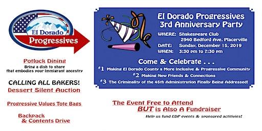 EDP 3rd Anniversary Celebration & Fundraiser